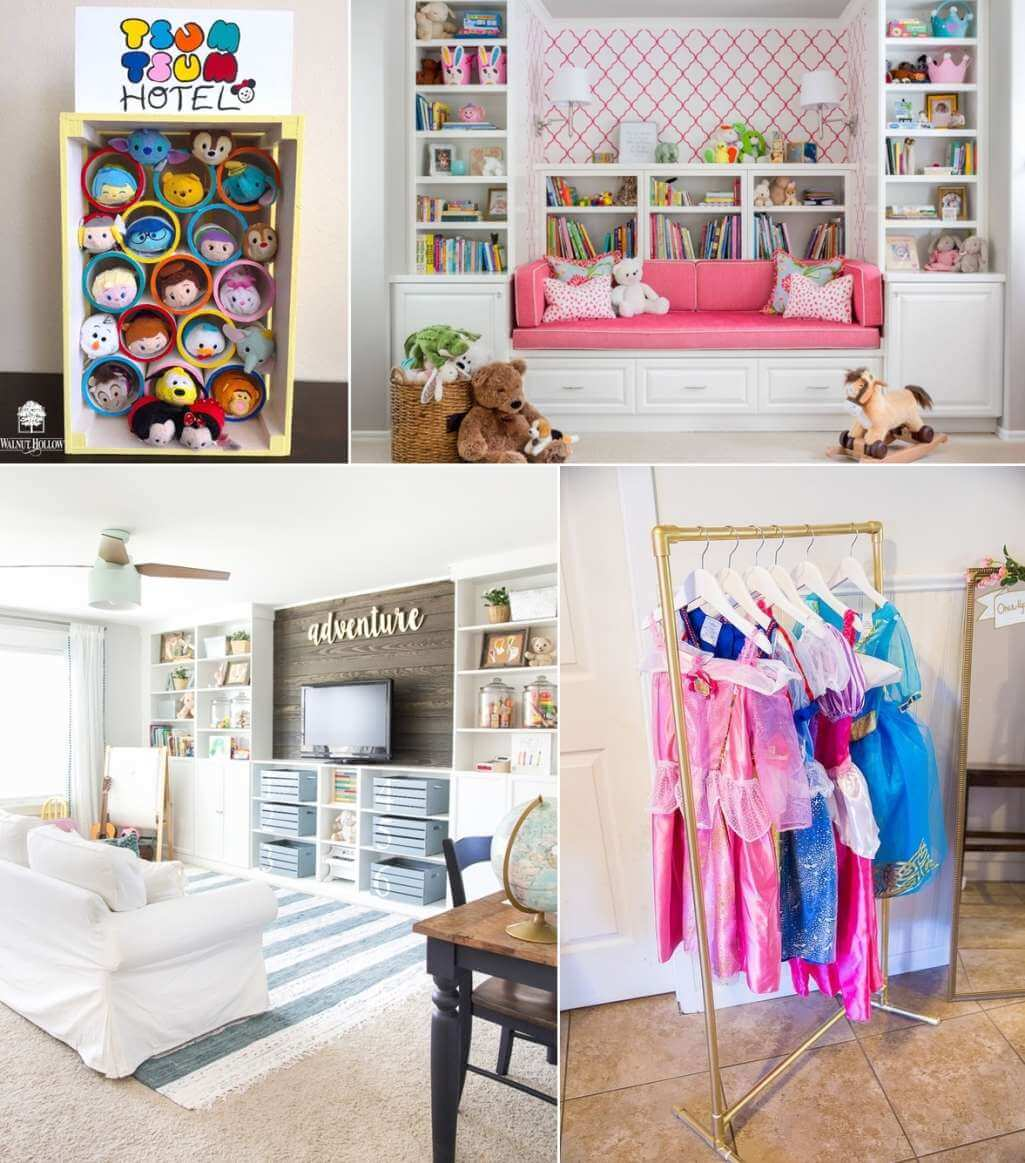 Clever and Cool Playroom Storage Ideas