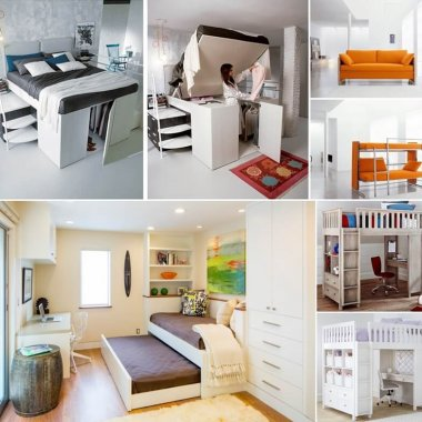 Clever Bed Designs For Small Rooms