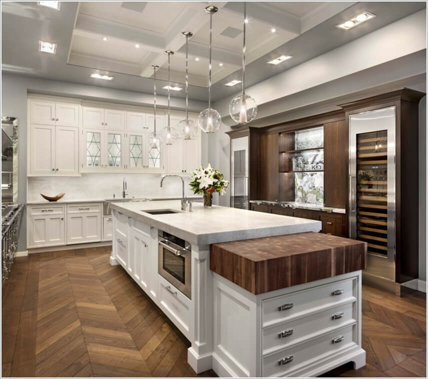 Extend Kitchen Island: Amazing Interior Design