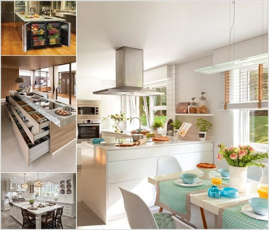 Cool Features You Can Add To A Kitchen Island