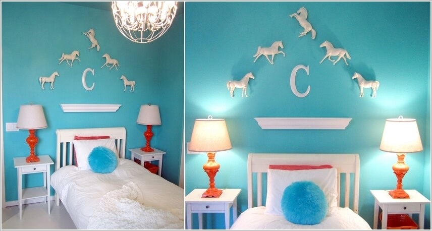 27 Stylish Ways To Decorate Your Children S Bedroom: Super Cute Horse Kids Bedroom Decor Ideas