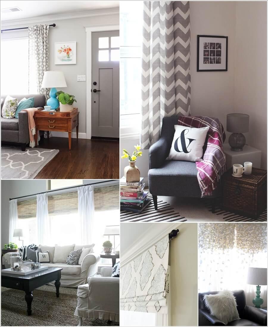 Wonderful Living Room Curtain Ideas