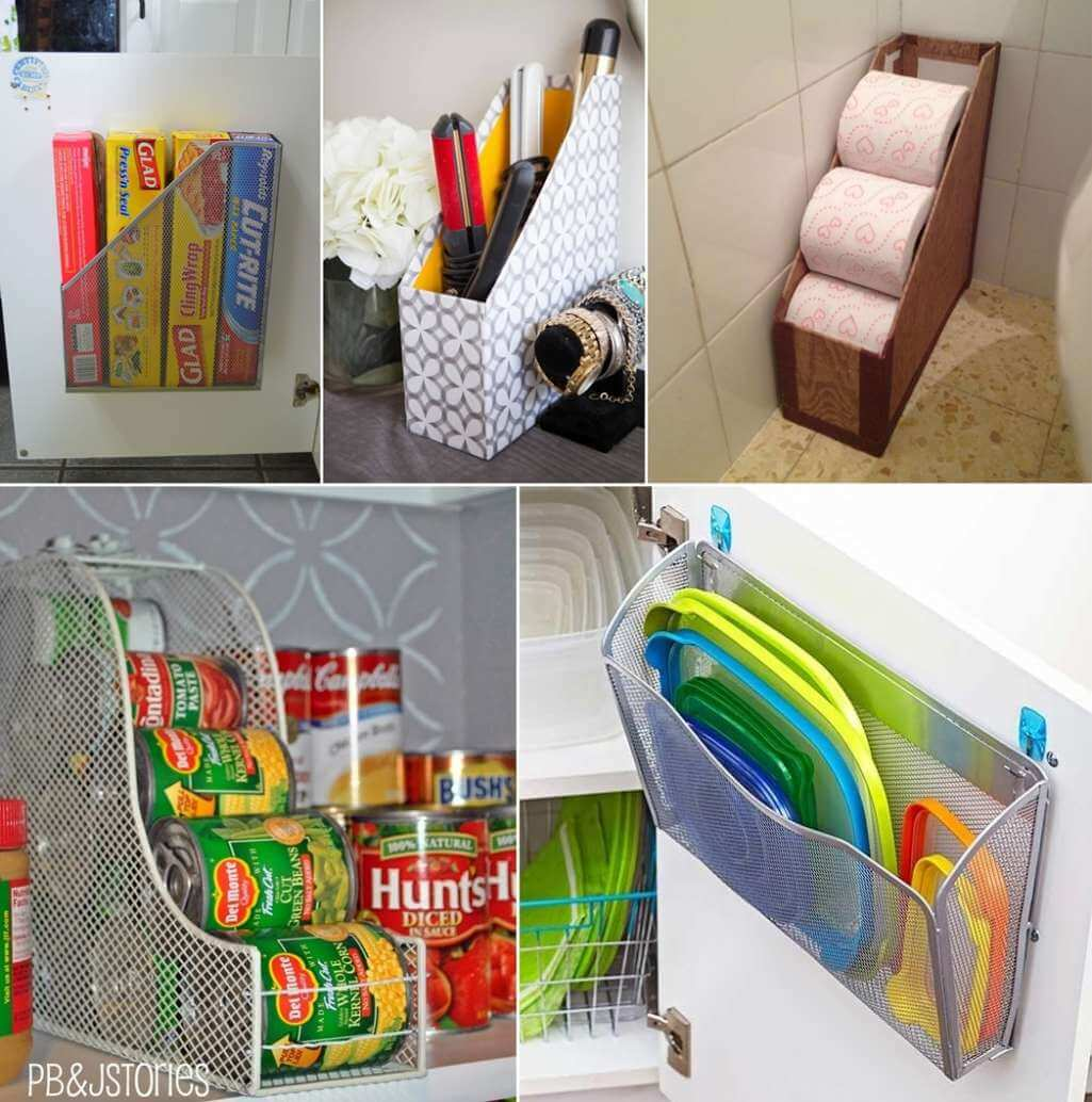 Organize Your Home With These Magazine Holder Hacks
