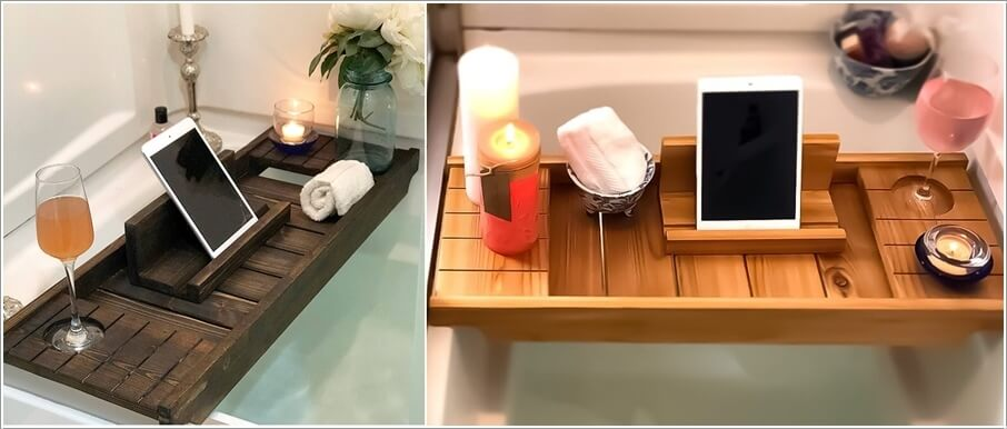 Cozy Up Your Bathroom with a Bathtub Tray