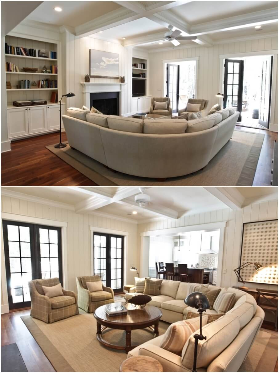 Curved Sectional Sofa Styling Ideas for Your Living Room