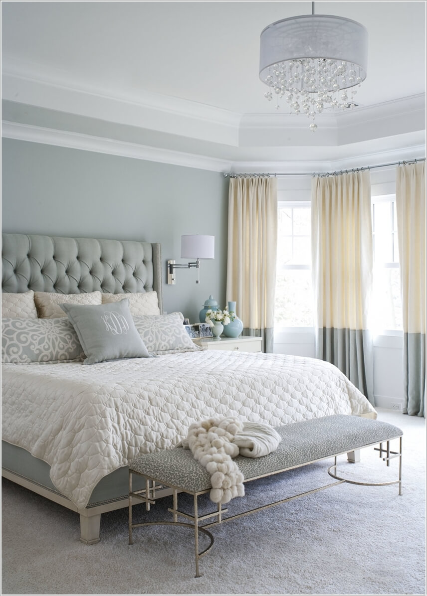 How To Decorate A Bedroom With Color Blocking