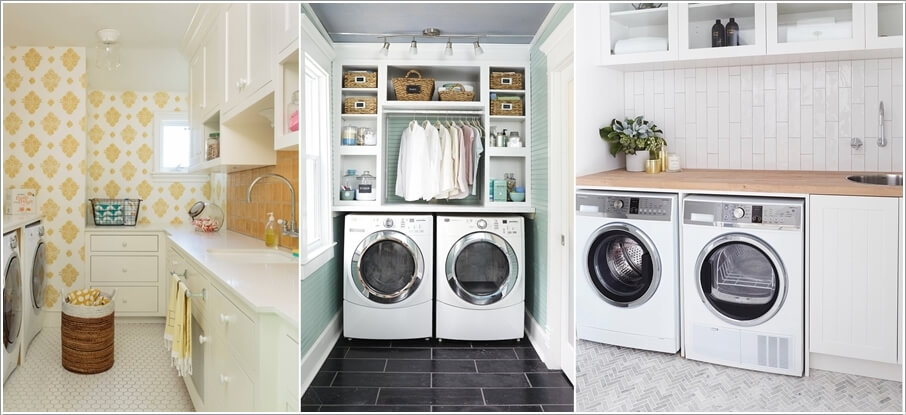 Laundry Room Accent Wall Ideas