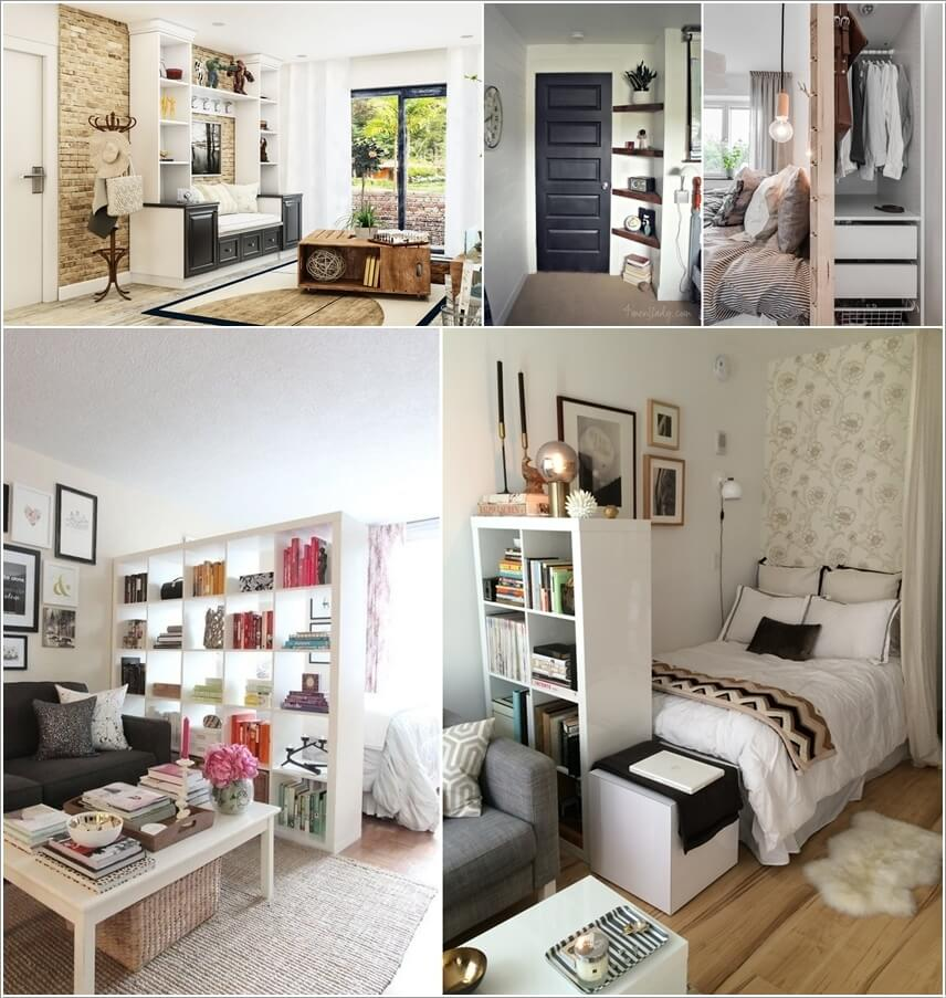 Clever Storage Ideas for a Small Apartment on Small Apartment Organization  id=26299