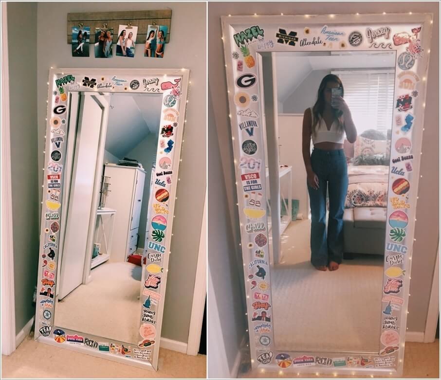 Diy Frame Full Length Mirror