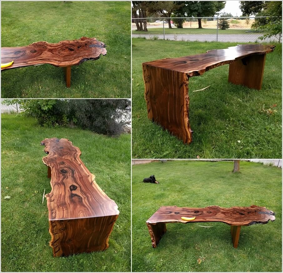 Waterfall Coffee Table