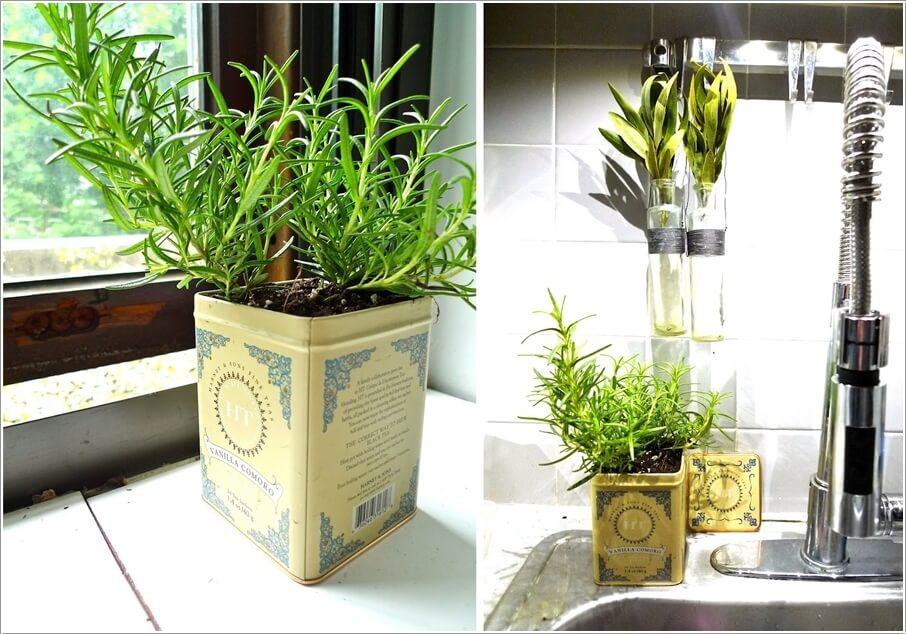 Great Kitchen Herb Garden Ideas