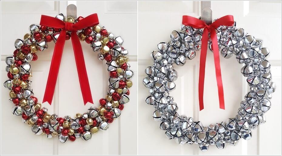 Unique Christmas Door Wreath Ideas