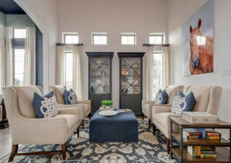 How to Style a Living Room with Chairs