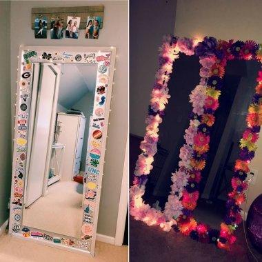 mirror border ideas