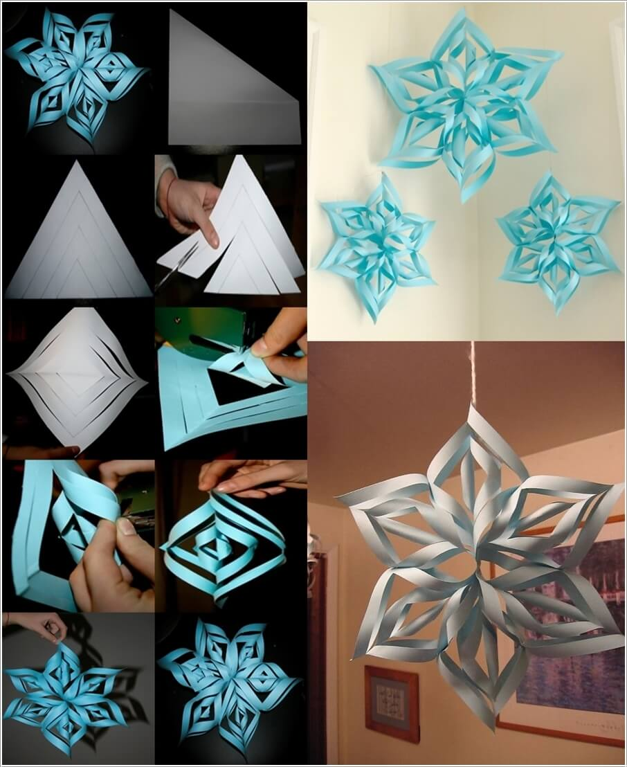 10 Creative Snowflake Crafts to Make This Winter