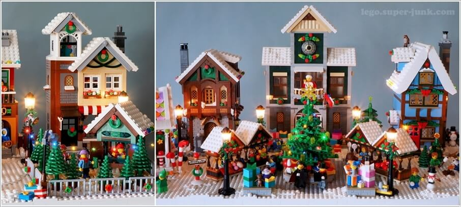 Creative Christmas Village Display Ideas