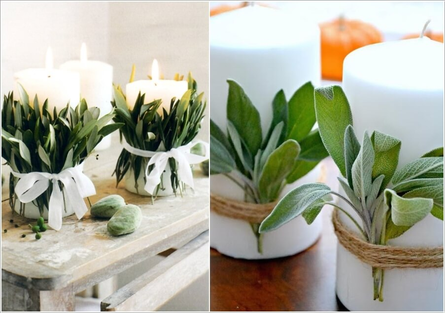 10 DIY Candle Decor Ideas