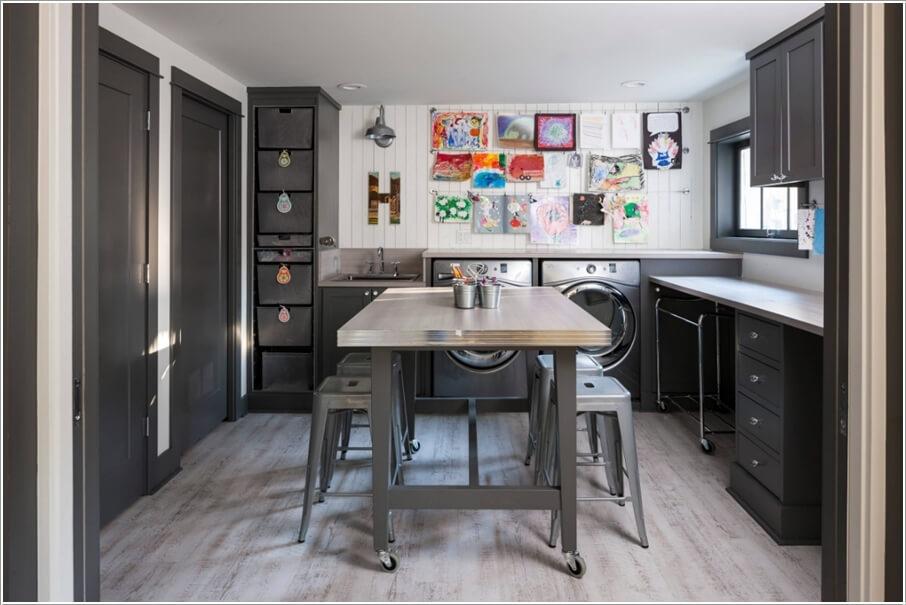 10 Wonderful Craft Rooms That Work Hard
