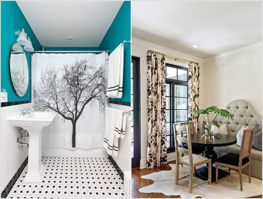 10 Classy Black and White Decor Ideas