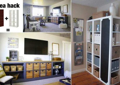 Clever IKEA Expedit Hacks