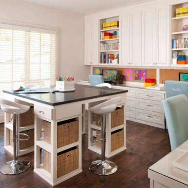 10 Wonderful Craft Rooms That Work Hard