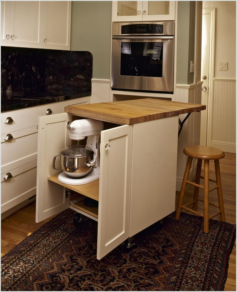 appliance storage ideas