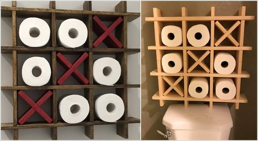10 Cool Toilet Paper Holders