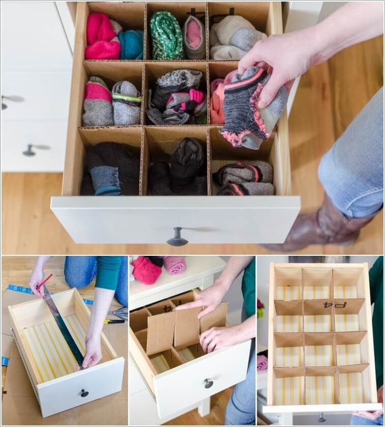 10 Clever Drawer Divider Ideas
