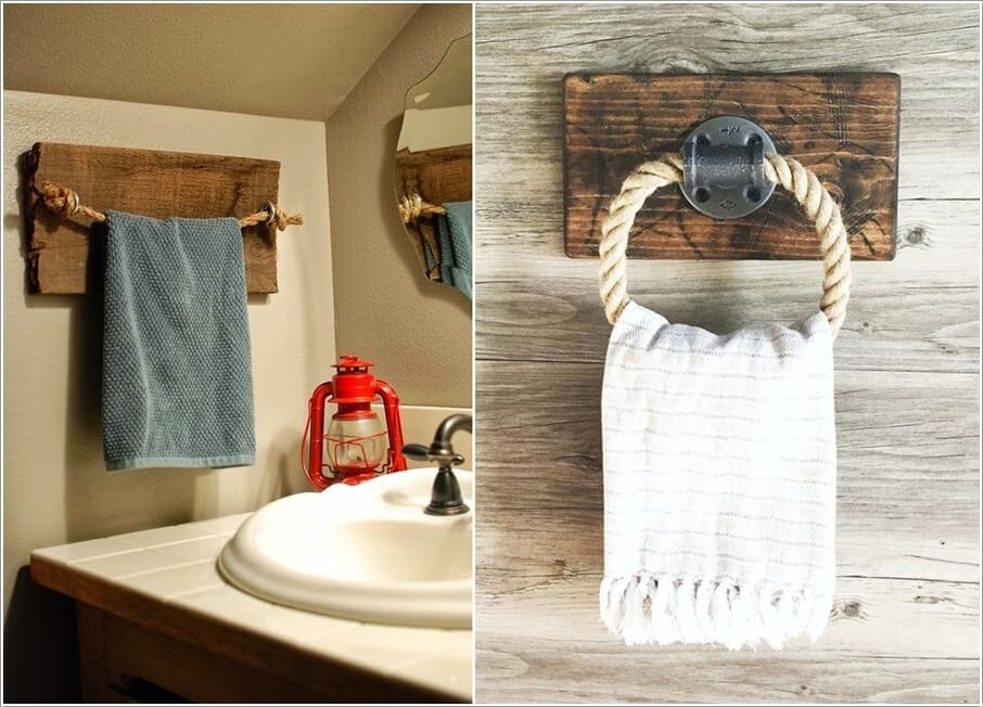 Rope and Wood Projects