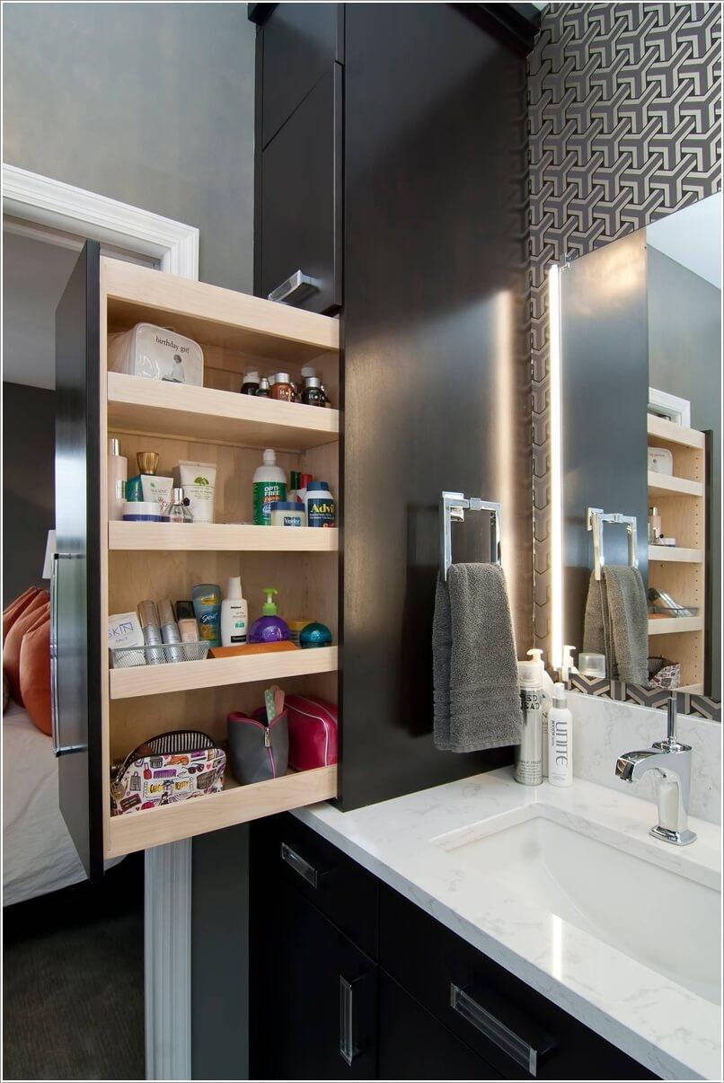 Bathroom Countertop Storage Ideas