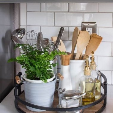10 Clever Kitchen Counter Storage Ideas