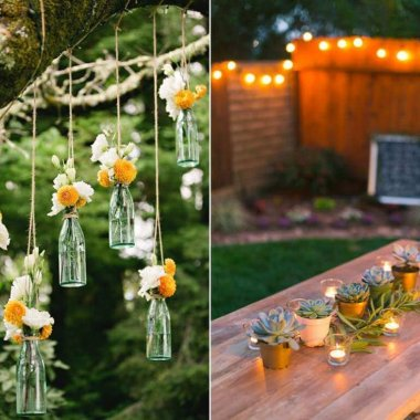 Backyard Party Decor Ideas