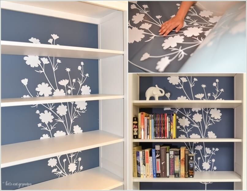 bookcase makeover
