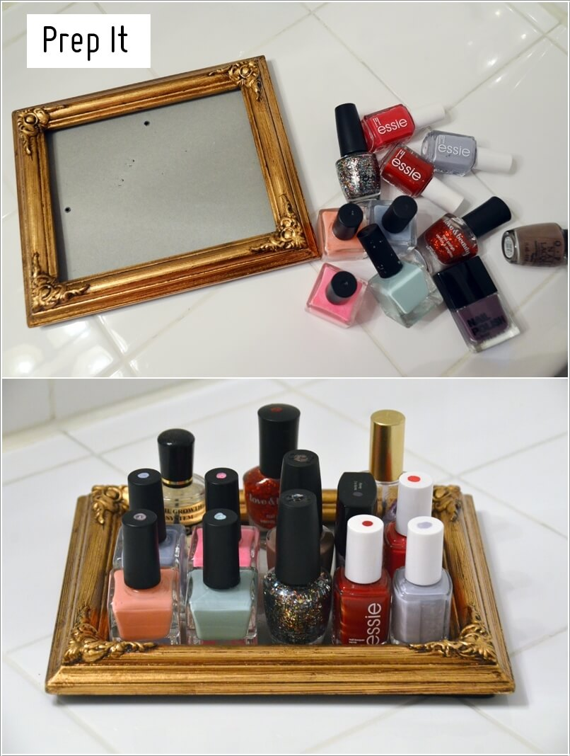 nail paint storage ideas