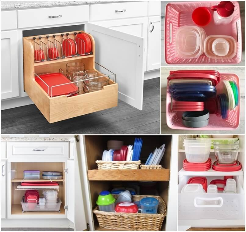 food containers storage