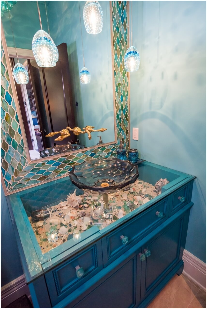 sea bathroom ideas sea inspired bathroom decor ideas 6358