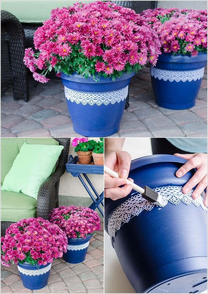 10 Fun Ideas to Decorate Your Flower Pots