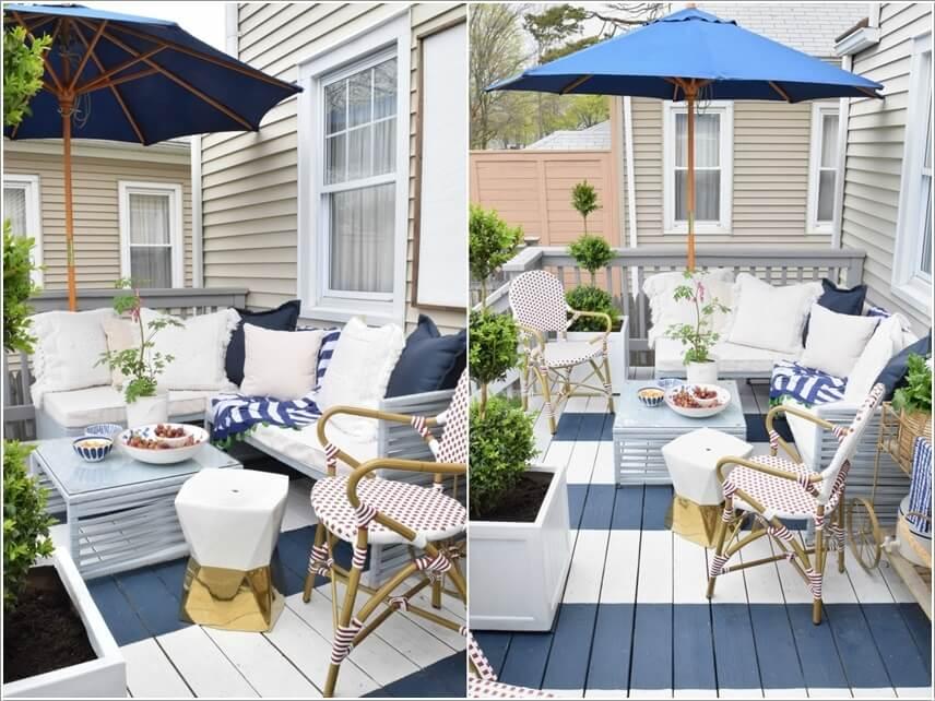 10 Coastal Decor Ideas for Your Home's Outdoor on Nautical Backyard Ideas id=56245