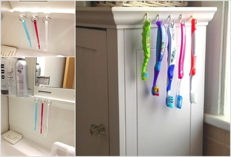 Toothbrush Storage Ideas