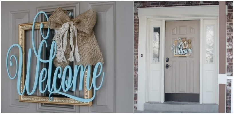 Front Door Welcome Signs