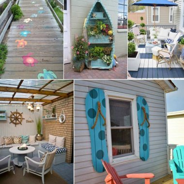 Coastal Decor Ideas for Your Home's Outdoor