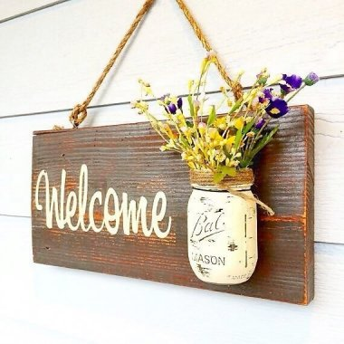 Front Door Welcome Signs