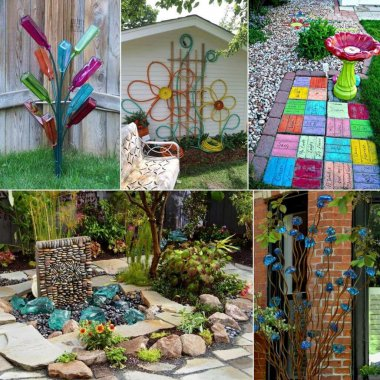 DIY Yard Art