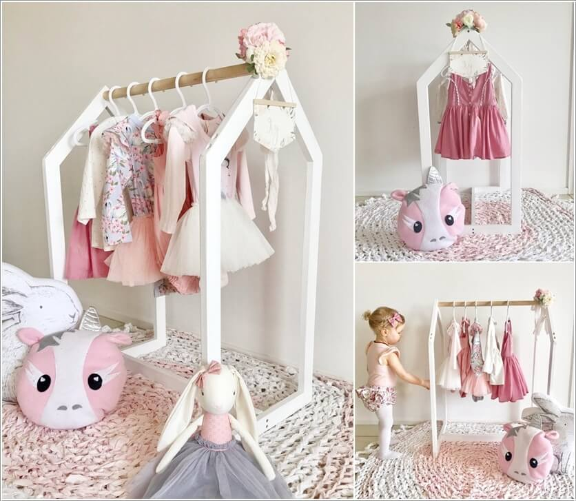 10 Clothing Rack Ideas For A Kids Room