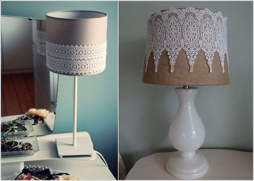 diy lampshade makeover