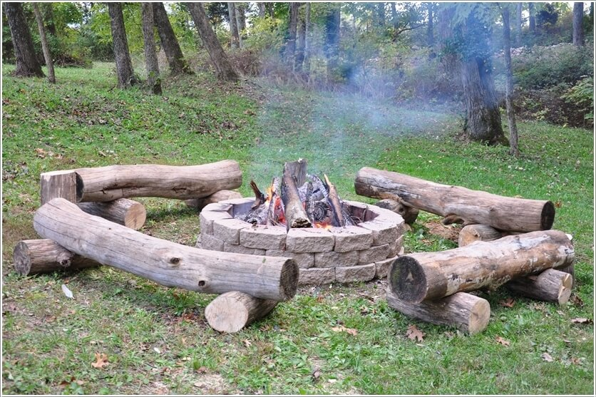 Fire Pit Seating Ideas