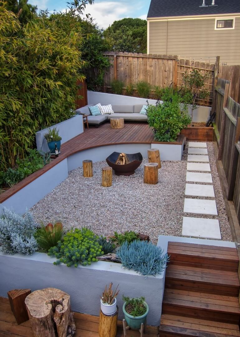 Amazing Fire Pit Seating Ideas