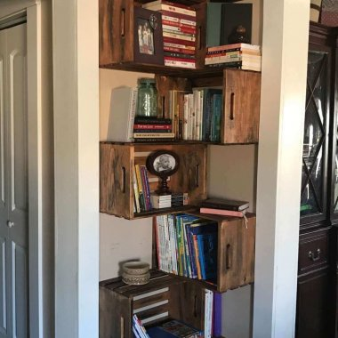 DIY Corner Storage Ideas