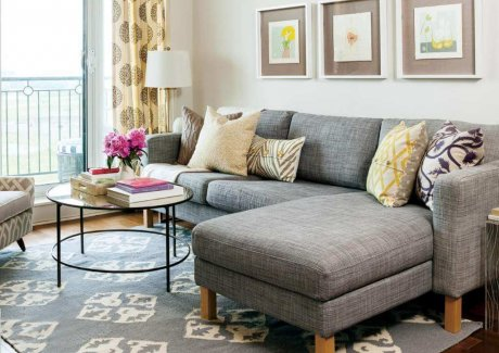 How to Style a Sectional Sofa