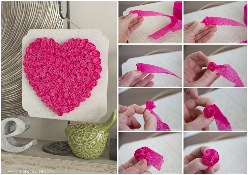 DIY Crepe Paper Decoration
